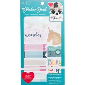 American Crafts: Shimelle Stickers 30-Page Book