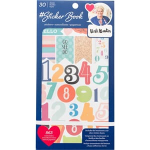American Crafts: Vicki Boutin Stickers 30-Page Book