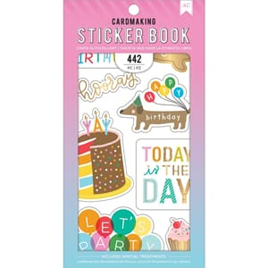 American Crafts: Happy Hooray Stickers 30-Page Book