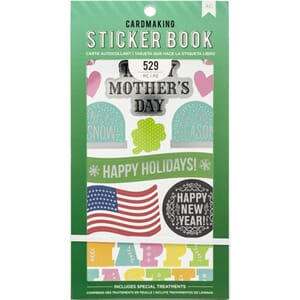 American Crafts: All The Holidays Stickers 30-Page Book