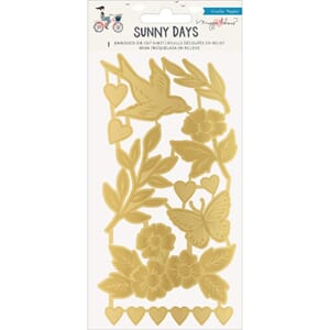 Maggie Holmes: Sunny Days Embossed Die-Cuts