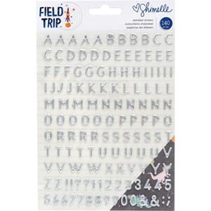 Shimelle: Field Trip Puffy Stickers, 140/Pkg