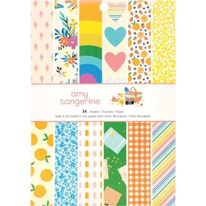 Amy Tangerine: Picnic In The Park Paper Pad, 6x8, 36/Pkg