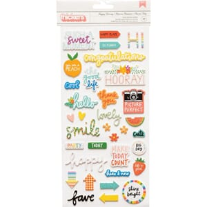 Amy Tan: Picnic In The Park Thickers Stickers, 77/Pkg