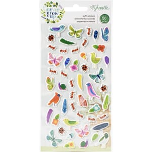 Shimelle: Never Grow Up Puffy Stickers, 50/Pkg