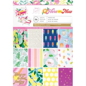 Dear Lizzy: Here & Now Paper Pad, 6x8, 36/Pkg