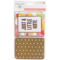 Project Life: Noted - Specialty Themed Cards 30/Pkg