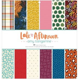 Amy Tan: Late Afternoon Paper Pad, 12x12, 48/Pkg