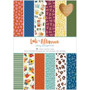 Amy Tan: Late Afternoon Paper pad, 6x8, 36/Pkg