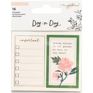 Maggie Holmes: Day-To-Day Planner Mini Sticker Book 16/Pkg