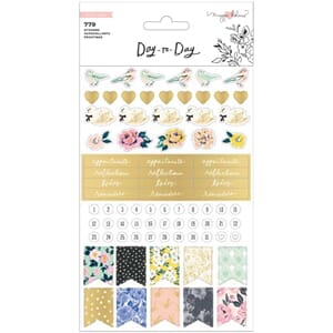 Maggie Holmes Day-To-Day Planner Sticker Book 779/Pkg