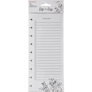 Maggie Holmes Day-To-Day Dbl-Sided Notepad 4.25x11, 60/Pkg