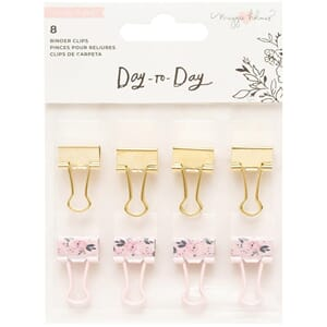 Maggie Holmes: Day-To-Day Planner Binder Clips 8/Pkg