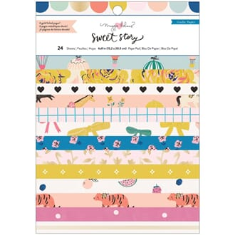 Crate Paper: Maggie Holmes Sweet Story Paper Pad, 6x8, 24/Pk