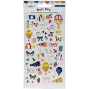Crate Paper: Maggie Holmes Sweet Story Puffy Stickers 50/Pkg
