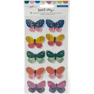 Crate Paper: Maggie Holmes Sweet Story Stickers, 10/Pkg