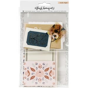 Crate Paper: Fresh Bouquet Stationary Pack