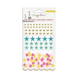 Maggie Holmes: Carousel Small Embellishments, 113/Pkg