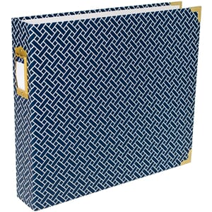 Project Life: Navy Weave D-Ring Album, 12x12