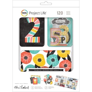 Project Life: This & That Cards & Die-Cuts Value Kit 120/Pkg