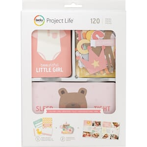 Project Life: Lullaby Girl Value Kit 120/Pkg