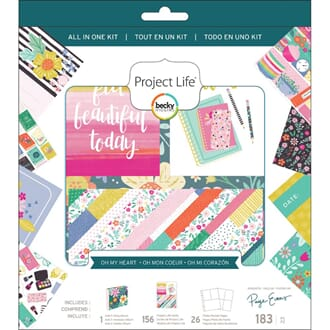 Project Life: Paige Evans Oh My Heart All-In-One Album Kit