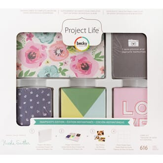 Project Life: Snapshots Core Kit, 616/Pkg