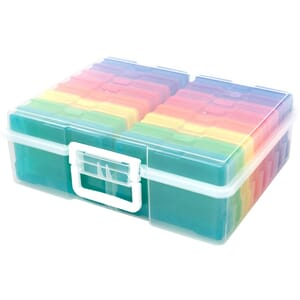 We R: Craft & Photo Translucent Plastic Storage, 15x12x5 inc