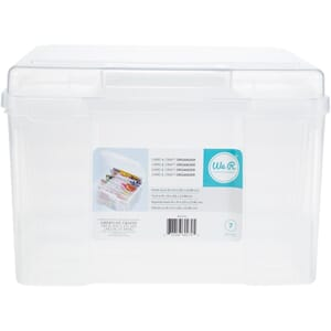 We R: Craft & Photo Translucent Plastic Storage