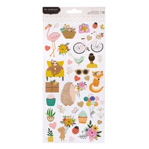 Pebbles: Hey, Hello! Jen Hadfield Stickers, 78/Pkg
