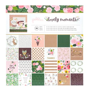 Crate Paper: Lovely Moments Paper Pad, 12x12 inch, 48/Pkg