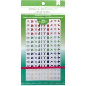 American Crafts: Rainbow Planner Stickers 12-Page Book