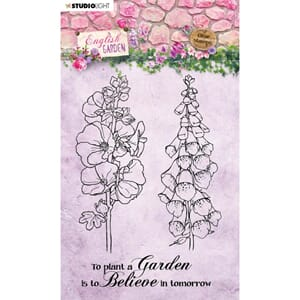Studio Light: No. 432 English Garden Clear Stamps