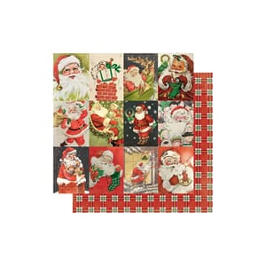 Authentique Paper: #23 Vintage Santa - Rejoice