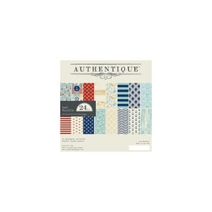 Authentique: Voyage Double-Sided Cardstock Pad, 6x6, 24/Pkg