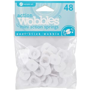 Hampton Art: Mini Wobble Spring ,48/Pkg