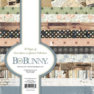 BoBunny: Once Upon A Lifetime Paper Pad, 6x6, 36/Pkg