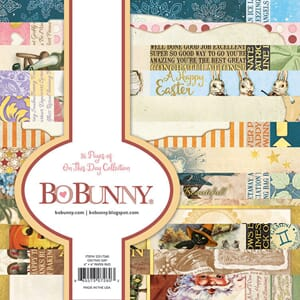 BoBunny: On This Day Paper Pad, 6x6, 24/Pkg