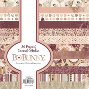 BoBunny: Charmed Single-Sided Paper Pad, 6x6, 36/Pkg