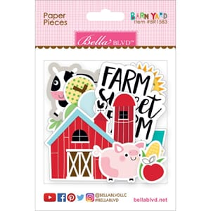 Bella Blvd: Barnyard Paper Pieces Cardstock Die-Cuts