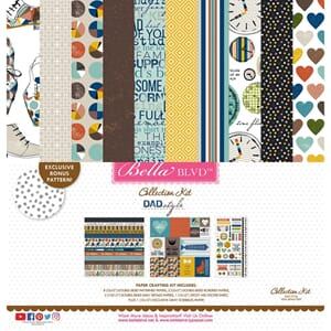 Bella Blvd: Dad Style Collection Kit, 12x12 inch