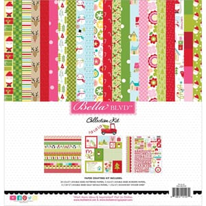 Bella Blvd: Fa La La Collection Kit, 12x12, 25/Pkg