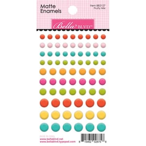 Bella Blvd: Squeeze The Day Adhesive Matte Enamel Dots