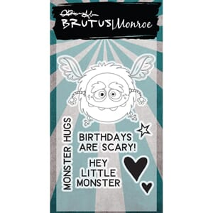 Brutus Monroe - Little Monster Clear Stamps, 2x3