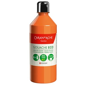 Caran d'Ache: Orange - Gouache ECO liquid, 500 ml