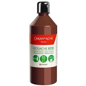 Caran d'Ache: Burnt Sienna - Gouache ECO liquid, 500 ml