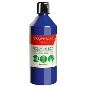 Caran d'Ache: Ultra marine - Gouache ECO liquid, 500 ml