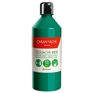 Caran d'Ache: Emerald Green - Gouache ECO liquid, 500 ml