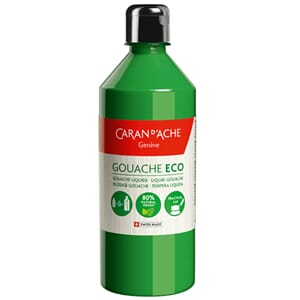 Caran d'Ache: Bright Green - Gouache ECO liquid, 500 ml