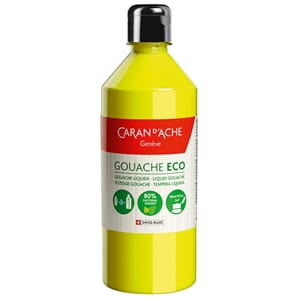 Caran d'Ache: Lemon Yellow Flou - Gouache ECO liquid, 500 ml